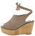 Kite04 Taupe Women's Wedge