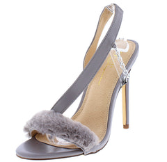 KIWI GREY WOMEN'S HEEL - Wholesale Fashion Shoes