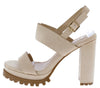 Krystal01 Nude Women's Heel - Wholesale Fashion Shoes