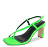 Lillian134 Neon Green Women's Heel - Wholesale Fashion Shoes