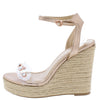 Ayla40 Rose Gold Women's Wedge - Wholesale Fashion Shoes