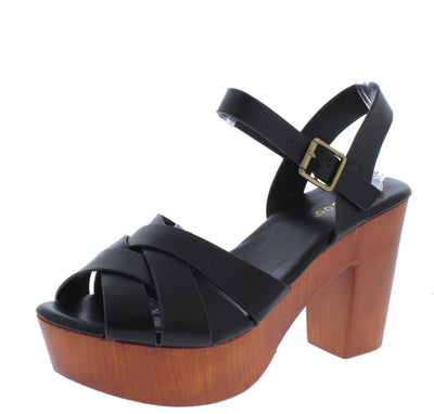 Lain38 Black Women's Heel - Wholesale Fashion Shoes