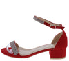 Laken22 Red Women's Heel - Wholesale Fashion Shoes