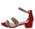 Laken25 Red Women's Heel