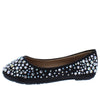 Larisa39k Black Round Toe Rhinestone Kids Ballet Flat - Wholesale Fashion Shoes