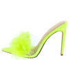 Anna231 Neon Yellow Women's Heel - Wholesale Fashion Shoes
