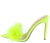 Anna231 Neon Yellow Women's Heel