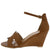 Laury04 Tan Women's Wedge