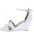 Laury04 White Women's Wedge