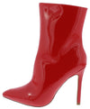 Leahmr Red Patent Women's Boot - Wholesale Fashion Shoes