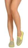 Emily222 Yellow Women's Flat - Wholesale Fashion Shoes