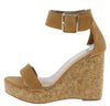 Lillian11 Tan Pu Women's Wedge - Wholesale Fashion Shoes