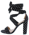 Lilly11 Dot Print Women's Heel - Wholesale Fashion Shoes