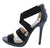 Lane02 Black Women's Heel