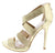 Lane02 Gold Women's Heel