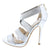Lane02 Silver Women's Heel