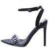 Livia Black Women's Heel - Wholesale Fashion Shoes