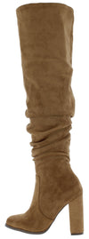 Nicole139 Tan Women's Boot - Wholesale Fashion Shoes