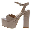 London2 Nude Crocodile Women's Heel - Wholesale Fashion Shoes