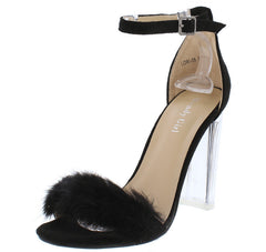 LORI06 BLACK WOMEN'S HEEL - Wholesale Fashion Shoes
