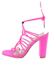 Lorris19 Neon Pink Women's Heel - Wholesale Fashion Shoes