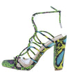 Lorris19 Yellow Snake Women's Heel - Wholesale Fashion Shoes