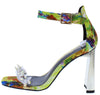 Lovelyn1 Yellow Multi Women's Heel - Wholesale Fashion Shoes