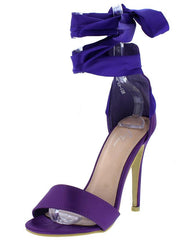 M0149 PURPLE WOMEN'S HEEL - Wholesale Fashion Shoes
