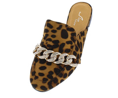 M066 LEOPARD WOMAN'S FLAT - Wholesale Fashion Shoes