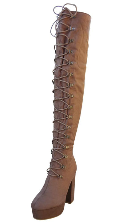 M953 Mocha Women's Boot - Wholesale Fashion Shoes