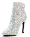 Mini54 Silver Women's Boot - Wholesale Fashion Shoes