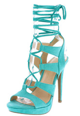 MADDEN11 BRIGHT JADE WOMEN'S HEEL - Wholesale Fashion Shoes