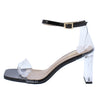 Madena1 Black Women's Heel - Wholesale Fashion Shoes