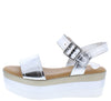 Maise01 Silver Women's Sandal - Wholesale Fashion Shoes