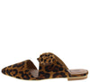 Maisy02 Leopard Cut Out Pointed Toe Tied Bow Mule Flat - Wholesale Fashion Shoes