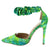 Maja2 Green Women's Heel