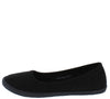 Malibu03 Black Women's Flat - Wholesale Fashion Shoes