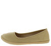 Malibu03 Taupe Women's Flat - Wholesale Fashion Shoes
