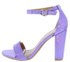 Mania22 Purple Women's Heel - Wholesale Fashion Shoes