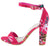 Mania79 Hot Pink Women's Heel