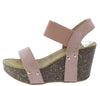 Mara29 Mauve Women's Wedge - Wholesale Fashion Shoes