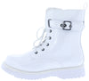 Mega3 White Patent Women's Boot - Wholesale Fashion Shoes