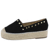 Claire01 Black Women's Flat - Wholesale Fashion Shoes