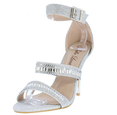 MIDNIGHT2 SILVER WOMEN'S HEEL - Wholesale Fashion Shoes