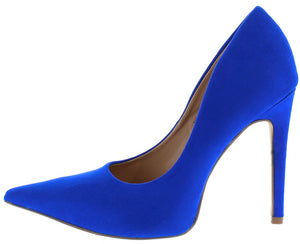 c9540cd55d31 Milly2 Blue Pointed Toe Stiletto Heel - Wholesale Fashion Shoes