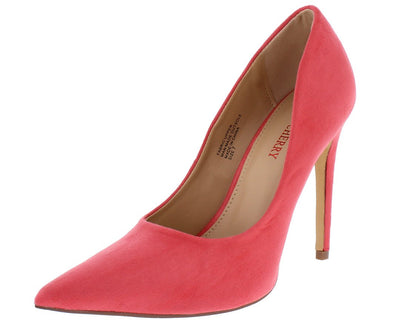 Milly2 Pink Pointed Toe Stiletto Heel - Wholesale Fashion Shoes