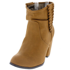 ABIGAIL WHISKEY CLOSED TOE SLOUCHY SHAFT BOOT - Wholesale Fashion Shoes