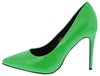 Neon Lights Green Women's Heel - Wholesale Fashion Shoes