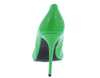 Neon Lights Green Pointed Toe Stiletto Pump Heel - Wholesale Fashion Shoes