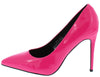 Neon Lights Pink Pointed Toe Stiletto Pump Heel - Wholesale Fashion Shoes